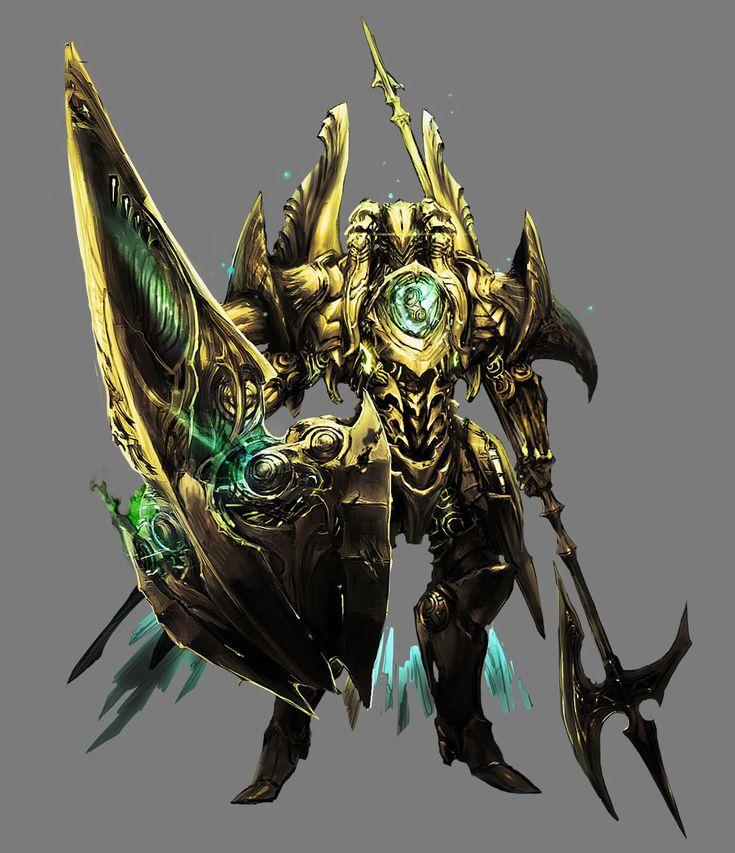 ✧ #characterconcepts ✧ Gold General - Stranger of Sword City [RPG]