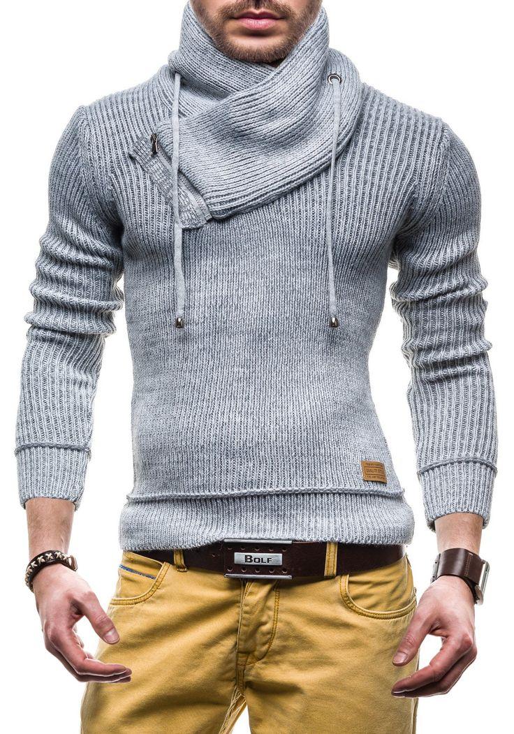 BOLF Sweatjacke Herren Pulli Pullover Sweatshirt Hochkragen 616: Amazon.de: Bekleidung