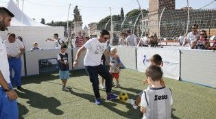 #sport - #salute - Vincent Candela alla terza tappa di OVS Kids Active Camp, Roma, 05 ottobre