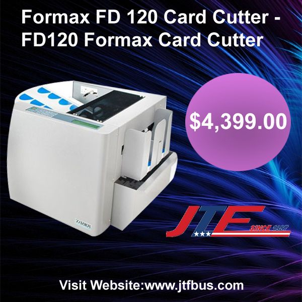Formax Fd 120 Card Cutter Is Perfect For On Demand Processing For Full Bleed Business Cards Greeting Cards And Photograp Business Cards Graphic Design Design