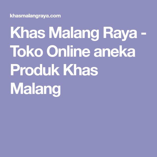 Khas Malang Raya - Toko Online aneka Produk Khas Malang