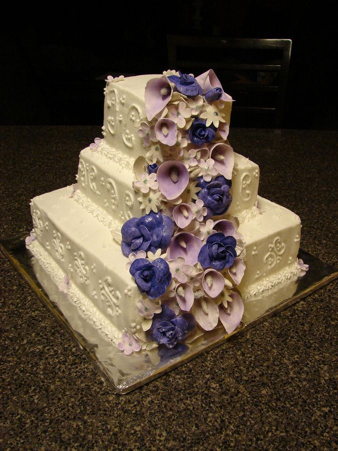 shabby chic bridal shower cakes%0A Image result for shabby chic wedding cakes
