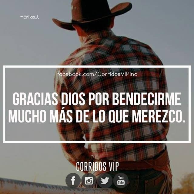 Gracias.!   ____________________ #teamcorridosvip #corridosvip #quotes #frasesvip