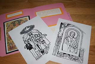 All Saints Day and All Souls Day Folders