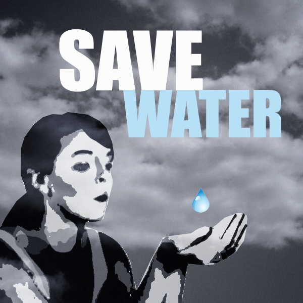 save water slogan poster