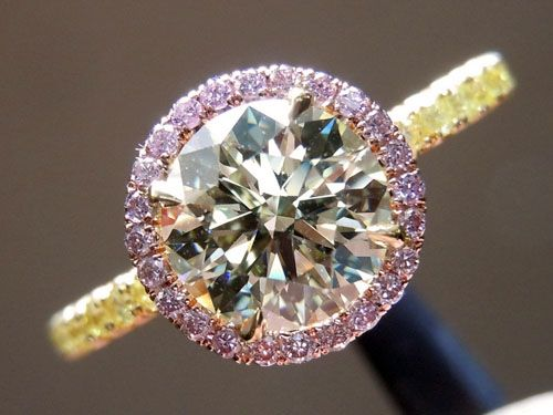 'Uber' Custom Halo engagement ring by Diamonds by Lauren