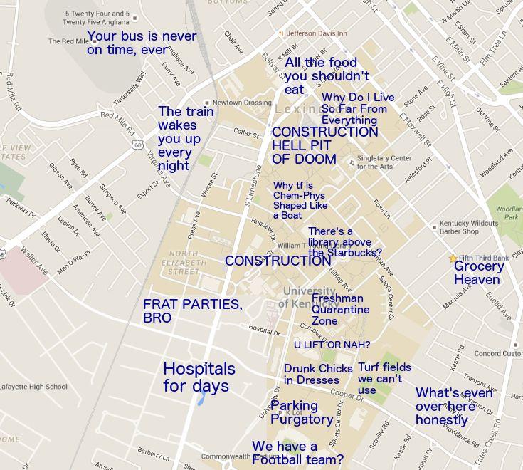 A Judgmental Map of Lexington, KY