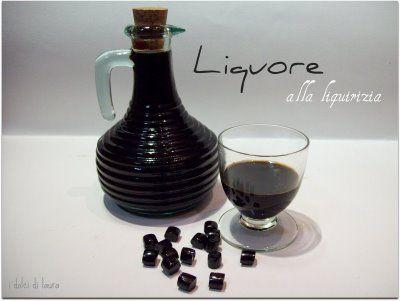 i dolci di laura: liquore alla liquirizia
