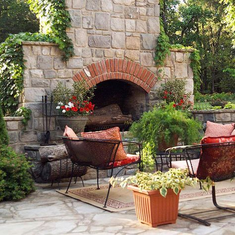 16 Fabulous Outdoor Fireplaces - 17 Best Ideas About Outdoor Stone Fireplaces On Pinterest