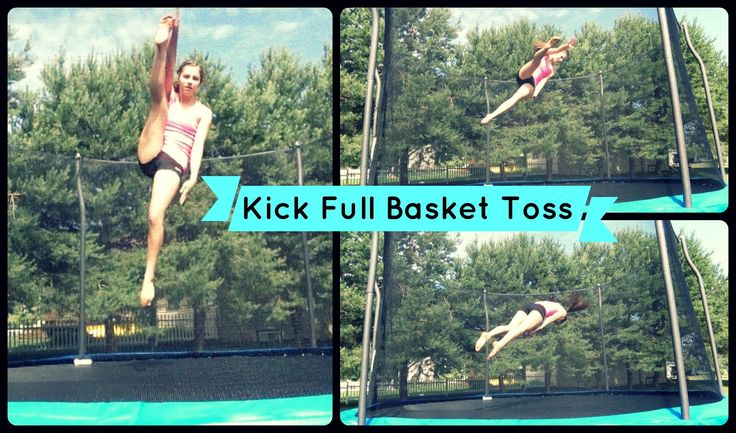How To Do A Kick Full Basket Toss