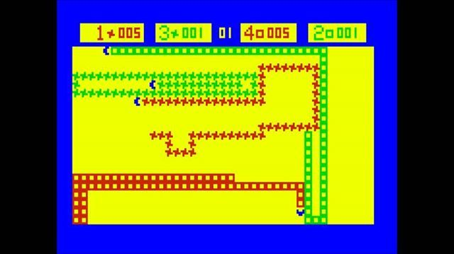 WEBSTA @favoritevideogamessince71 Checkmate (1977 Bally Astrocade). Another built-in game is a nice bright color port of Arcade's Checkmate (1977). It is up to 4-player snake-like game, where your aim is to trap your opponents and not to get trapped by others.