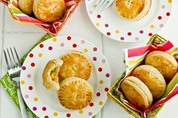 Tandoori Chicken Puffs Recipe | JustOneCookbook.com