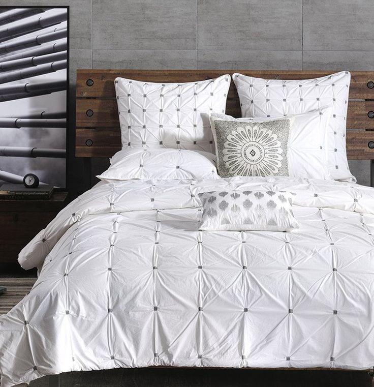 Maison Tufted White Comforter Set - master bedroom ideas - 94 Best Master Bedroom Ideas And Bedding Images On Pinterest