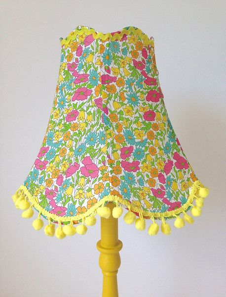 up cycled lampshade tutorial  @  The People Shop