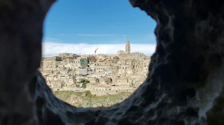 Vista da Grotta Parco della Murgia