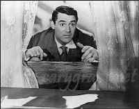 """Mortimer Brewster from """"Arsenic & Old Lace"""" (Cary Grant)"""