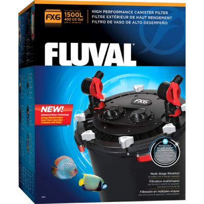 FX6 High Performance Canister Filter. 530gph. Good for planted tanks up to 100gallons and still have 5:1 flow:volume ratio