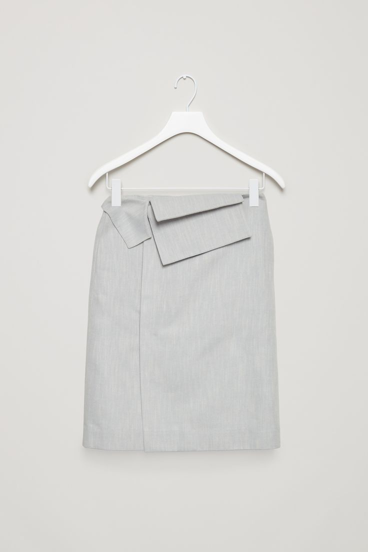 COS | Skirt with folded wrap waist
