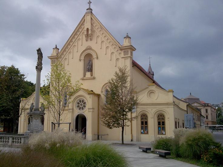 Slovakia, Bratislava - Capuchin church