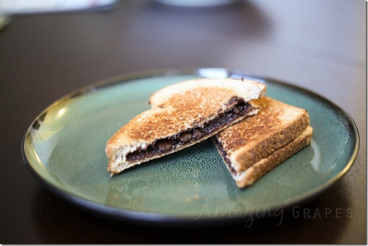 Grilled Chocolate Sandwiches | Delicious to the max!Sugar Sugar ...