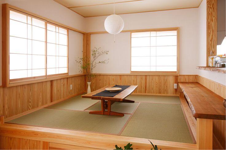 居酒屋風ダイニングのある二世帯の家 | 群馬(高崎・前橋)で自然素材の注文住宅なら四季の住まい