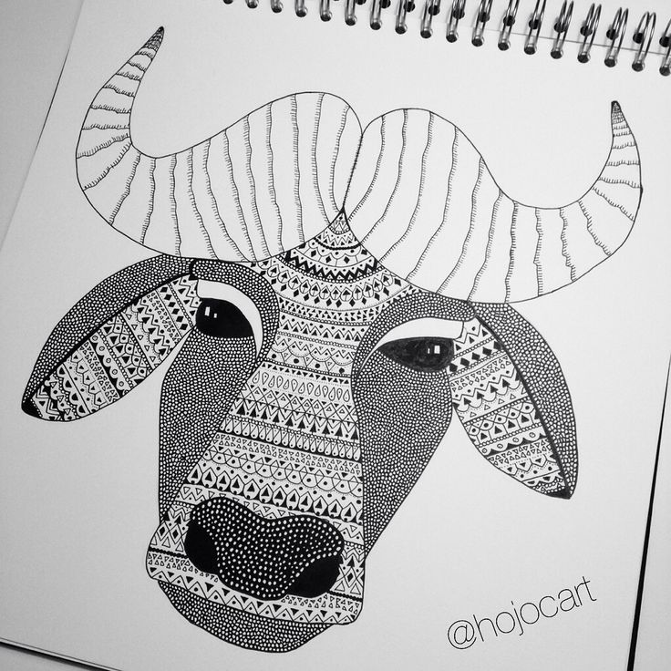 Ink Water buffalo