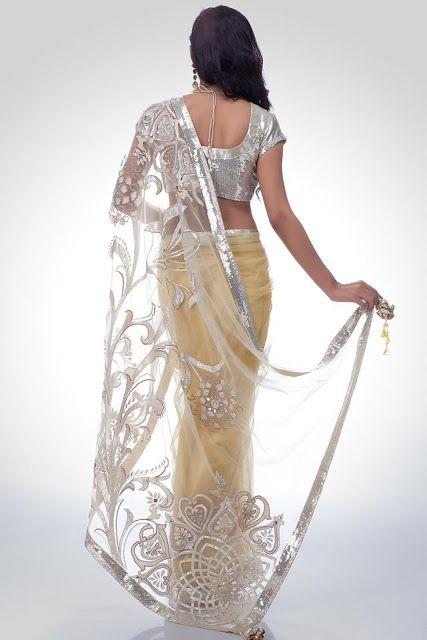 Satya Paul Embroidered Sarees | Indian Saree Trends 2012-2013