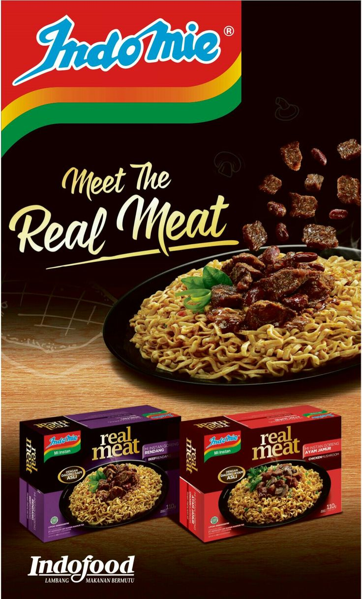 Indomie Real Meat