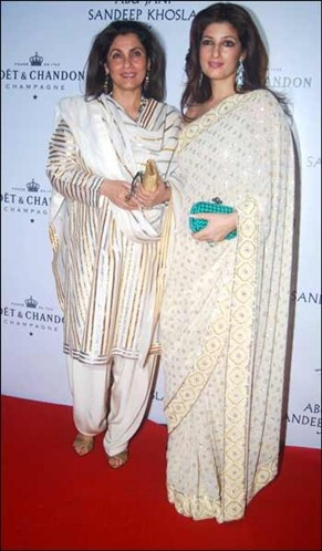 Bollywood Mother-Daughter Duo: Dimple Kapadia and Twinkle Khanna