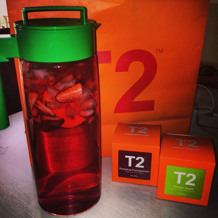 Pumping pomegranate & Turkish Apple T2 tea