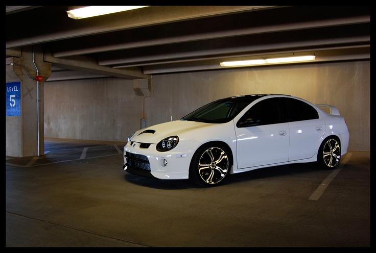 SRT-4 in the garage