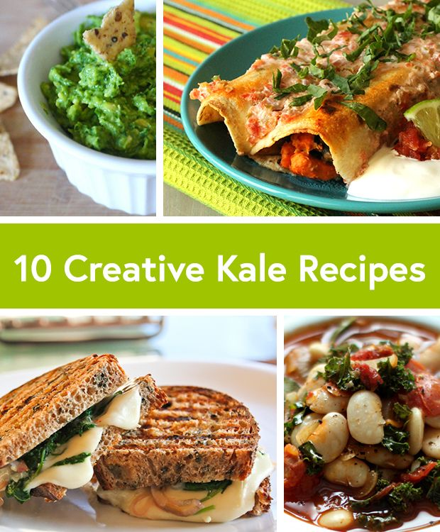 10 Creative Recipes With Kale