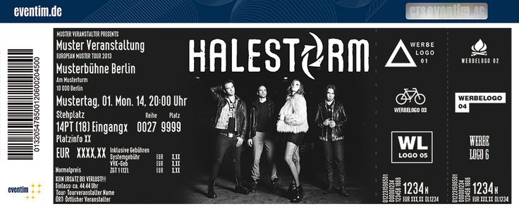 29 March 2015 Halestorm concert in Milano