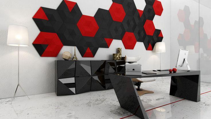 Miękkie panele ścienne 3D Fluffo, Fabryka Miękkich Ścian. Kolekcja Fluffo ISOS. www.fluffo.pl