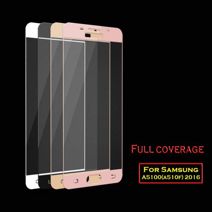 9H Full Screen Tempered Glass For Samsung A5 2016 Screen Protector Film 0.26mm For A510F 5.2inch Nano Coating Glass Protective *** Cari penawaran hanya dengan mengklik tombol KUNJUNGI