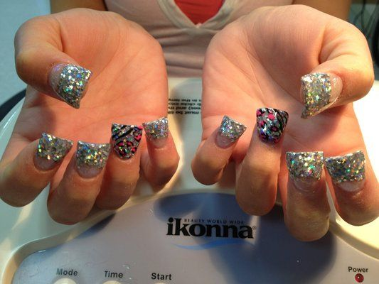 flared nail designs - Google Search