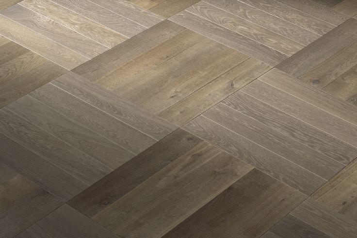 Hakwood flooring - Pattern - Basket Weave - True Chiaro - Authentic Sierra Collection