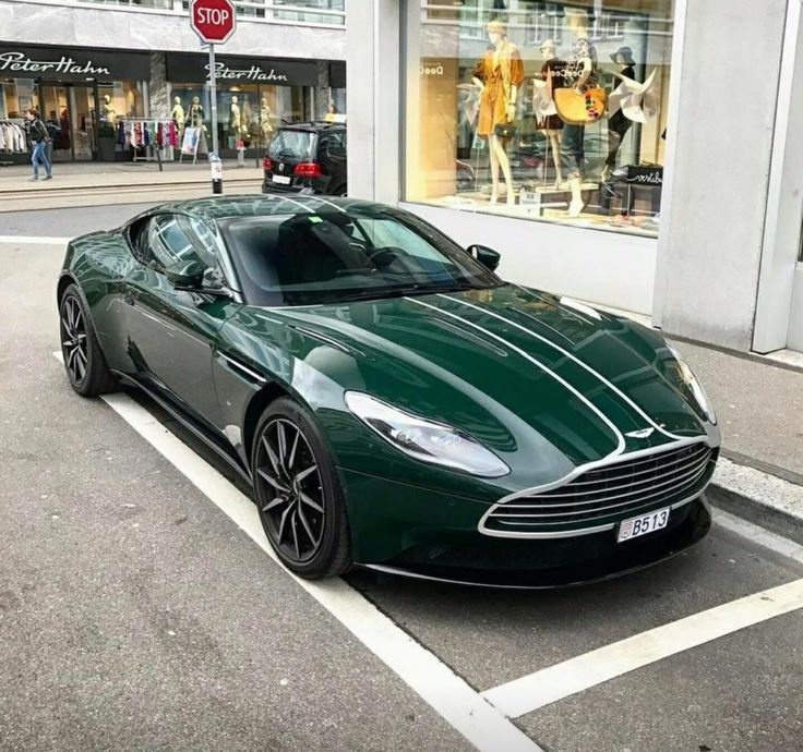 Aston Martin DB11 British Racing Green