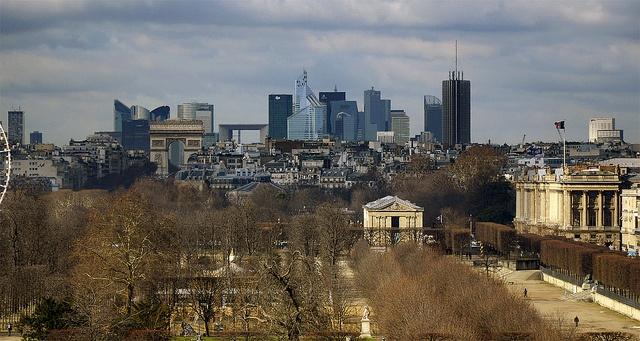 Skyline by -pieton-, via Flickr