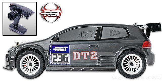 DT2 Rally Metal Gray 1/10 RTR (バッテリー無し) Pro ブラシレスモーター付きモデル #RGT #RC #ラジコンカー #ラリー #ホビー #クリスマス #プレゼント