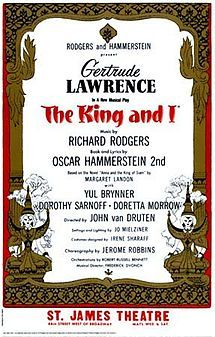 I didn't see this on Broadway, but Yul Brenner was the King!