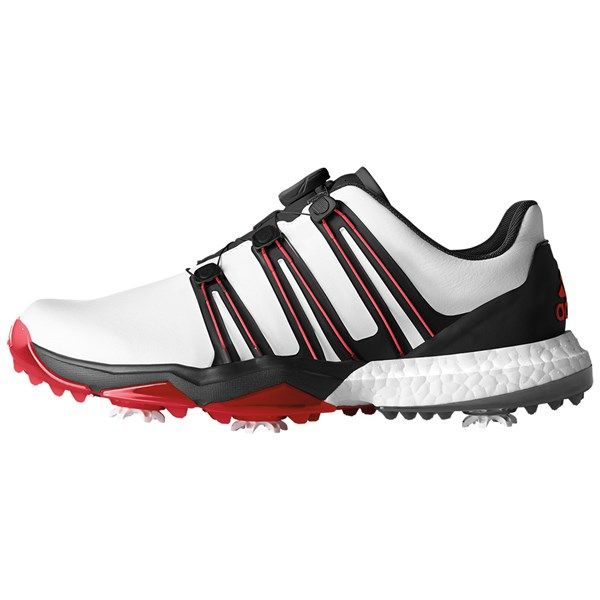 adidas Mens Powerband Boost WD Boa Golf Shoes | Chaussures de golf ...