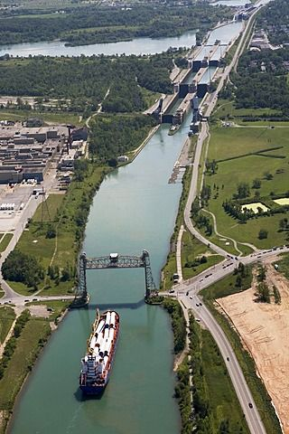 Welland Canal , Thorold, Ontario, Canadá