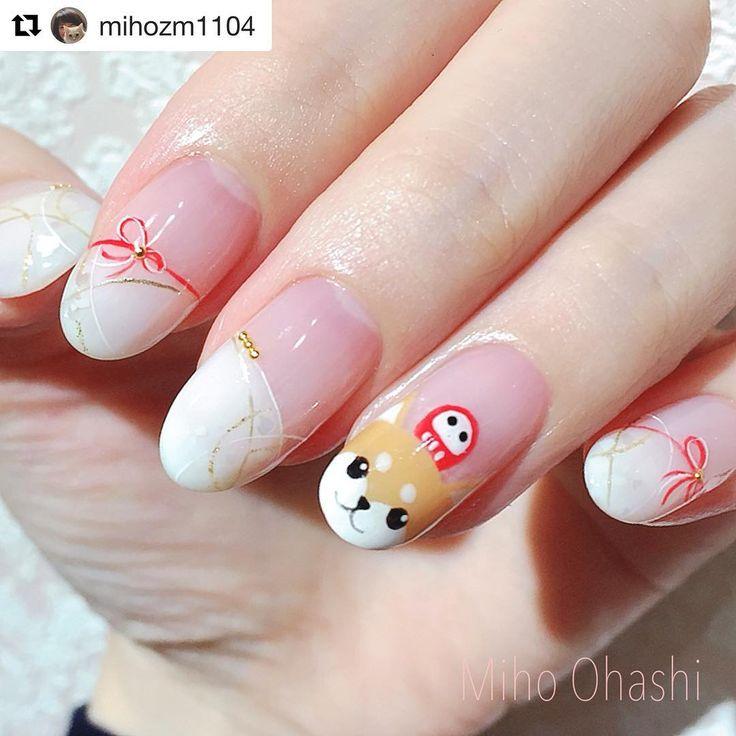 Akita, Dog Nail Art, Chinese, Nail Arts, Christmas, Pedi, Nail Art Designs,  Pretty Nails, Nail Ideas - Best 25+ Dog Nail Art Ideas On Pinterest Dog Nails, Cute Easy