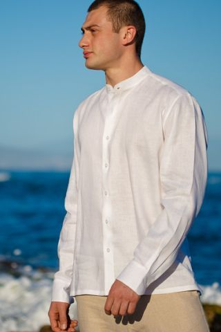 Men39s beach wedding attire sexy men39s beach fashion for Wedding dress shirts for men
