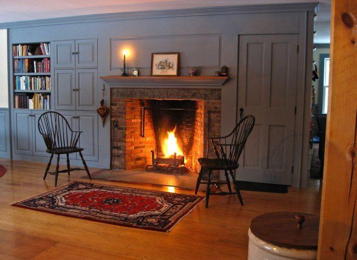 Interesting Idea Rumford Fireplace Perfect Design Antique