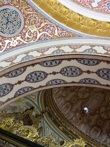 Upshot at the Topkapi Palace, Istanbul, Turkey
