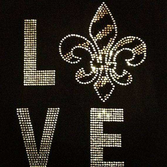 afd6b6e3 new orleans saints bling shirts