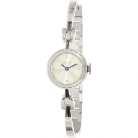 Reloj Bulova de vestir Manecillas en azul Modelo 96L222