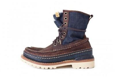 Visvim Grizzly Boots Mid-Folk Indigo, 26-10-2012, F.I.L., Tokyo